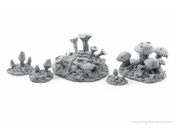 Magic mushrooms (unpainted)