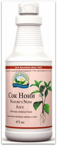 Nature's Noni Juice/ Сoк Нони.
