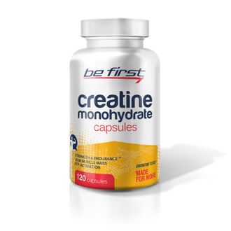 (Be First) Creatine Monohydrate Capsules - (120 капс)