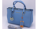 Сумка Michael Kors Sutton Tote Light blue / Голубая