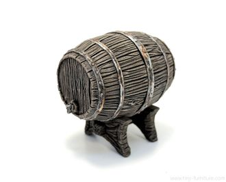 Big oak barrel (PAINTED)