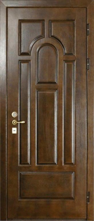филенчатая железная дверь с установкой