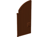 Door 1 x 4 x 7 2/3 Curved Top, Reddish Brown (24054 / 6134923)