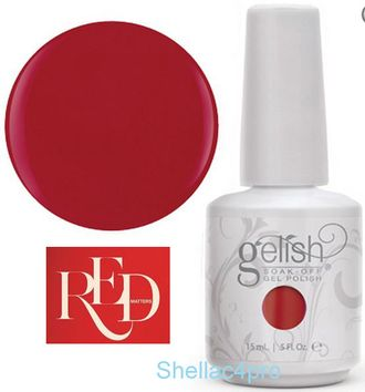 Gelish Harmony, цвет № 01080 Ruby Two-Shoes - Red Matters - Holiday Collection 2015