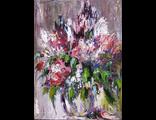 """Круглова Светлана. """"Цветы"""", холст / масло, 40 х 30 см., 2010 г."""
