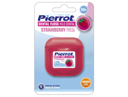 Межзубный флосс Pierrot Strawberry Dental floss (ВОЩЁНЫЙ), 50 м