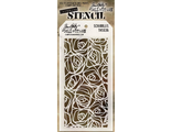 "трафарет Tim Holtz Scribbles ""SCRIBBLES"""