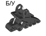 ! Б/У - Bionicle Foot with Ball Joint Socket 2 x 3 x 5, Black (41668 / 4162076) - Б/У
