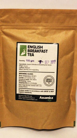 English Breakfast black tea 100 грамм