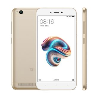 Смартфон Xiaomi Redmi 5A 16gb Gold EU