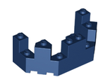 Castle Turret Top 4 x 8 x 2 1/3, Dark Blue (6066 / 4274537 / 6139001)