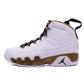Air Jordan IX 9 Men White/Black-Militia Green (41-45)