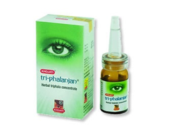 Глазные капли Tri-phalanjan Eye Drops (green) Khojati, 7 мл