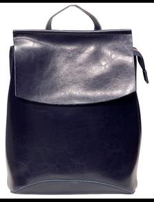 Рюкзак женский PYATO 807-К тёмно-синий p-073