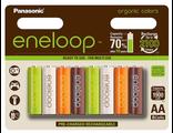 8 AA Panasonic Eneloop Organic 2000 mAh Ni-Mh (блистер)