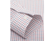 Рубашка T.M.Lewin Non-Iron Navy Red Check Twill Fitted Shirt