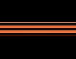 """Наклейка """"Георгиевская лента"""" на борт автомобиля из серии """"День Победы - 9 Мая!"""" к 70-летию победы!"""