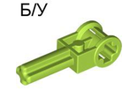 ! Б/У - Technic Pole Reverser Handle, Lime (6553 / 4144295) - Б/У