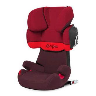 Cybex Solution X2-Fix Rumba Red 2015
