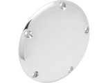 1107-0047 Drag Specialties Крышка DERBY COVER DOMED CHROME 5-HOLE