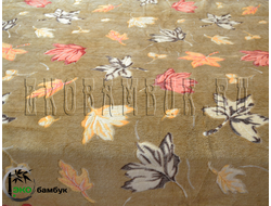 Плед из бамбука Soft Line Евро Осенний дубок