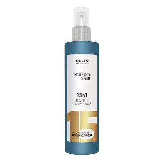 Несмываемый крем-спрей Ollin Perfect Hair Leave-in Cream Spray 15в1 250 мл