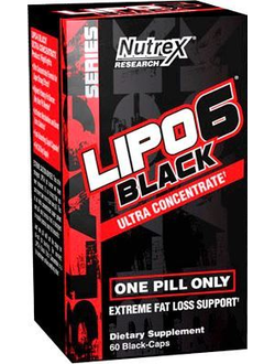 Nutrex Lipo-6 Black Ultra Concentrate International