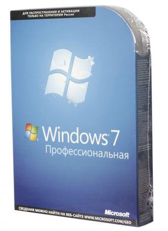 Microsoft Windows 7 Professional BOX x32/x64 DVD FQC-05347