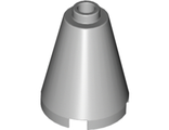 Cone 2 x 2 x 2 - Completely Open Stud, Light Bluish Gray (3942c / 4211471 / 6022155 / 6057616)
