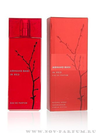 "Armand Basi ""In Red Eau de Parfum"" for women 100ml"