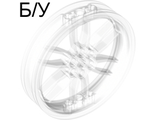 ! Б/У - Wheel 75mm D. x 17mm Motorcycle, Trans-Clear (88517 / 6053875) - Б/У