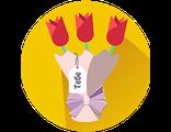 Получить или подарить ВОЛШЕБНЫЙ БУКЕТ  из Флауэрленда, создающий по-настоящему королевское настроение  (для женщины)