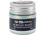 Acrylic Paint-Opal Magic Blue-Gold 1.7oz