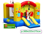 Clown Slide and Hoop Bouncer 9201