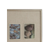 Фоторамка PHOTO FRAME 3 VIEWS FAMILIO SILVER 26X21CM STEEL арт. 31017