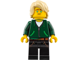 Lloyd Garmadon - Hair, Hoodie High School Outfit, n/a (njo338)