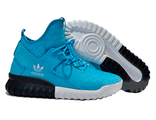 Кроссовки Adidas Tubular голубые