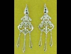 Серебряные серьги сяп089