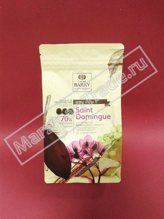 Горький шоколад Saint Domingue 70%, Cacao Barry