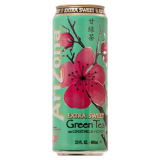 Напиток Arizona Extra Sweet Green Tea 0,68л (США)