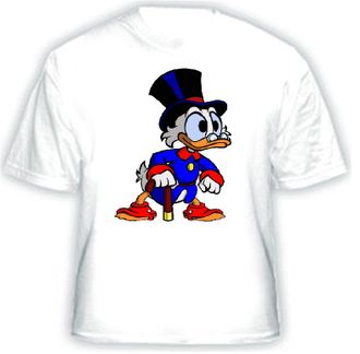 Scrooge Mc Duck (b) Футболка, сублимация А4