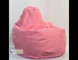 Кресло-груша, искусственная замша однотонная (цвет на выбор)