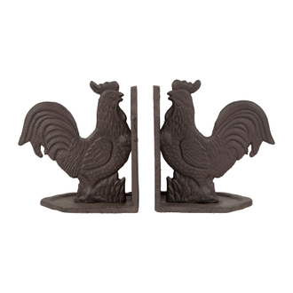 Держатель книг 200482 BOOKENDS L+R CAMPAGNE NATURAL 31X8XH16.5 CAST IRON