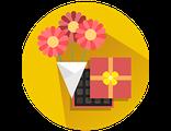 Купить ПОДАРОЧНЫЙ КОМПЛЕКТ (букет+подарок) для руководителя (праздничный предзаказ)