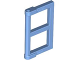 Pane for Window 1 x 2 x 3 with Thick Corner Tabs, Medium Blue (60608 / 4570916 / 6064448)