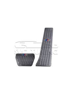 Накладки на педали M Performance Carbon для BMW E65 E66