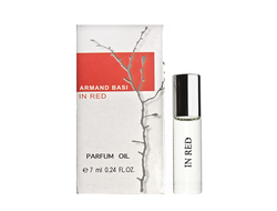"Масляные духи, Armand Basi ""In Red"", 7 ml"