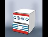 Тумба с ящиками Отважный моряк 2