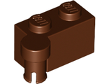 Hinge Brick 1 x 4 Swivel Top, Reddish Brown (3830 / 4215448 / 6011460)
