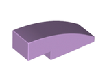 Slope, Curved 3 x 1 No Studs, Lavender (50950 / 6097051)